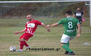 Καμπανιακός-Μακεδονικός 0-3 φιλικό